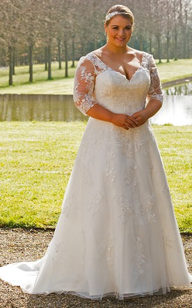 212cd0fbe3 Simple Plus Size Wedding Dresses