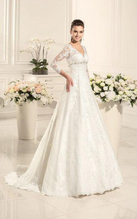 Conventional Wedding Dress | Traditional Bridal Gowns - June Bridals