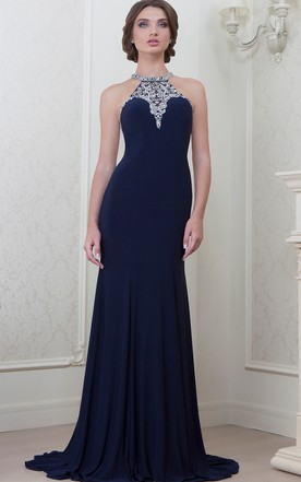 Navy Blue Evening Dress Navy Formal Dress June Bridals