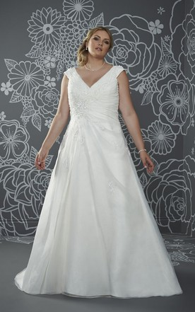 18eb245fce831 Fat Figure Wedding Dresses, Large Size Bride Bridals Dress - June ...