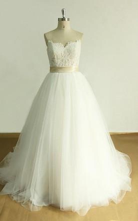 Sweetheart Wedding Gowns & Dresses   Strapless Bridal Dresses - June ...