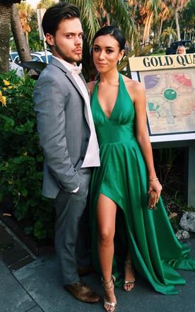 Emerald & Mint Green Prom Dress | Formal Dresses By Color - June Bridals