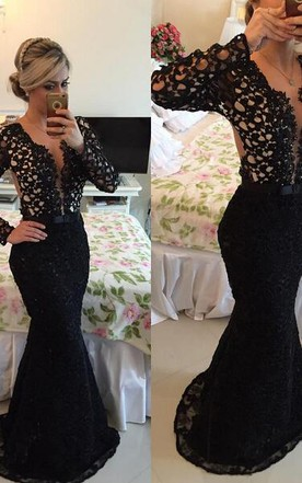 9ed68a7ecc373 Sexy Style Black Gowns | Hot Black Dress - June Bridals