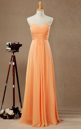Tangerine Color Bridesmaid Dress, Orange Bridesmaids Dresses - June ...