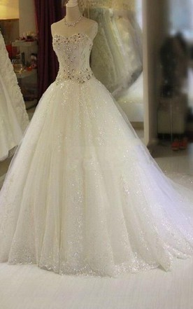 Wedding Dress With Beaded Bling Bling Style Bridal Dresses June - Bling Wedding Dresses