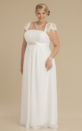 Exotic Beach Wedding Dresses Plus Size