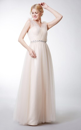 Simple Party Dresses, Plain Evening Gowns - June Bridals