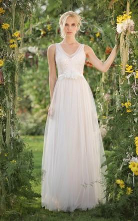 Green summer dress for wedding