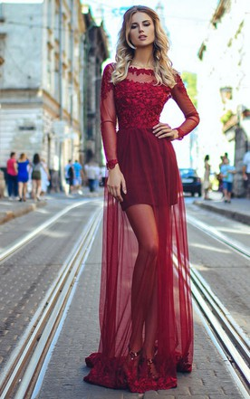 Red Color Wedding Dress | Bridal Gowns In Red - June Bridals