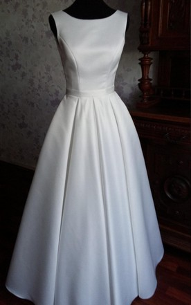 Satin Wedding Dress | Bridal Gowns With High Quality Satin - June ...