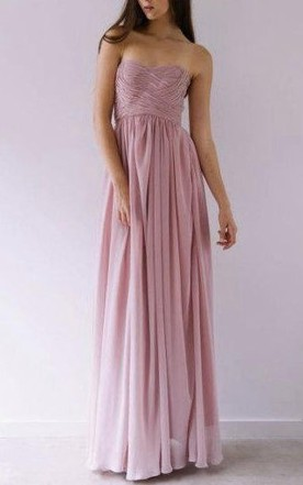 Charlize Maid Maxi Dress