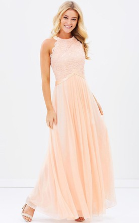 Peach & Apricot Bridesmaids Dresses | Bridesmaid Dress By Color ...