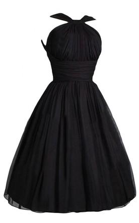 Gothic Halter Dress