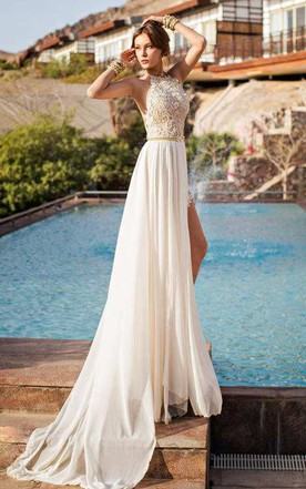 Fashion Detachable Skirt Wedding Dress on Sale - June Bridals