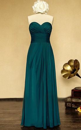 Emerald Green & Turquoise Bridesmaid Dress - June Bridals