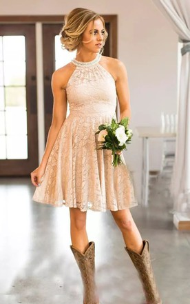 558c69574b Western & Country Style Bridesmaids Dresses - June Bridals