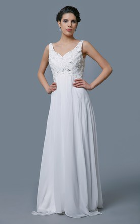 Casual Bridal Dresses for Beach, Destination Wedding Gowns - June ...