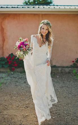 Boho Theme Wedding Dresses Reviews Bohemian Joy Bridals Dress