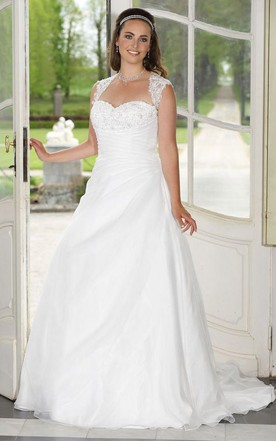 Best Wedding Dress Style For Plus Size June Bridals