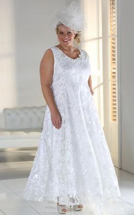 Super Large Size Bridals Dresses, Plus Figure Wedding Gowns - June ...