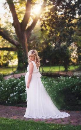 Maternity Wedding Gowns Pregnant Bridal Dresses June Bridals