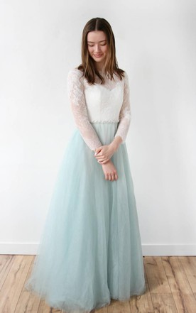 Lace Wedding Dresses With Long Sleeves - June Bridals