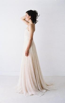 Cheap Beige Wedding Dress in Various Style - June Bridals
