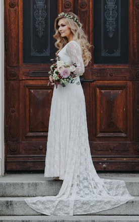Country Style Wedding Dresses, Retro Style Bridals Dress - June ...