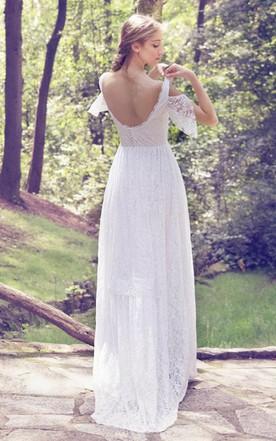 Full Length Wedding Dresses, Maxi Bridals Dress - June Bridals