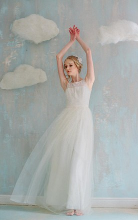 Trendy Tulle Skirt Wedding Dress on Sale - June Bridals