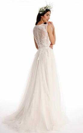 High Neckline Bridal Dresses, High Collar Wedding Gowns - June Bridals