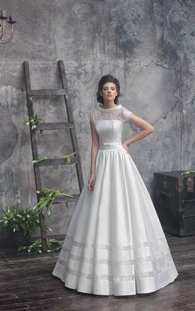 Kimono Inspired Prom Dress | June Bridals