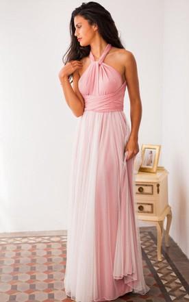 Tulle Skirt Detachable For Long Wedding Gown White
