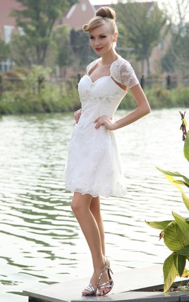 Captivating Cute Dress With Lace And Spaghetti Straps