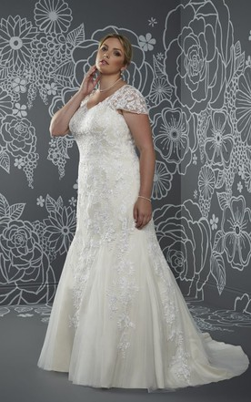 edcdcae444be Wedding Gowns for Large Size, Cheap Plus Figured Bridal Dresses ...