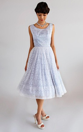 Summer Tea Length Dress