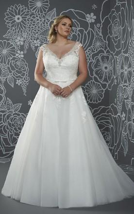 Plus Size Designer Wedding Dresses - June Bridals