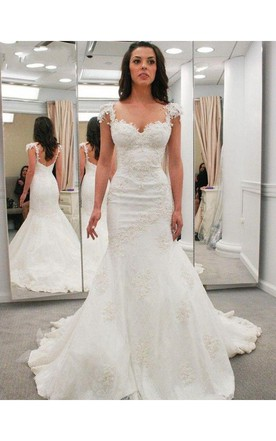Short Shape Curvy Wedding Dress for Brides, Petite Shape Bridal ...