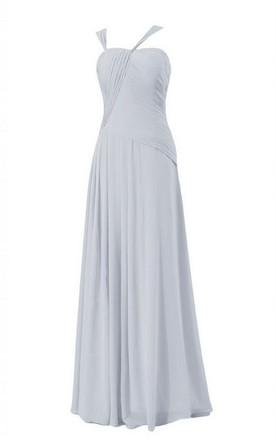 Long Chiffon Bridesmaid Dresses Under 100 | Cheap Chiffon Bridesmaid ...