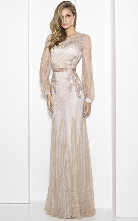 Conservative Style Prom Gowns, Modest formal Dresses - June Bridals