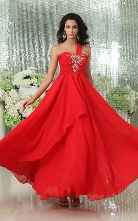 Magnificent Sweetheart Sleeveless Tiered Gown With Lace Up