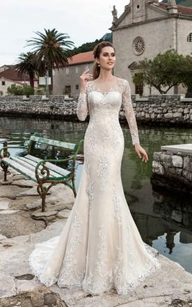 Mermaid Style Lace Wedding Dress - June Bridals
