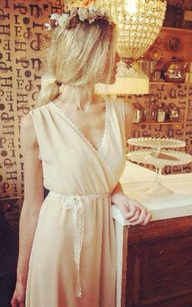 Vintage Style Handmade Bridesmaid Dress