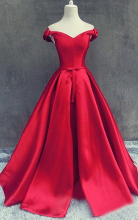 Nice Red Formal Dress