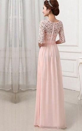 Modest Bridesmaids Dresses   Modest Bridesmaids Gowns Conservative Mormon Dress For Bridesmaid