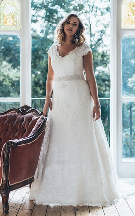 Wedding Dresses For Plus Size Women Strapless Sleeved More