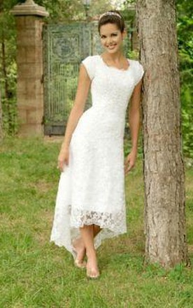 2nd Married Wedding Gowns, Older & Mature Women Bridal Dresses ...