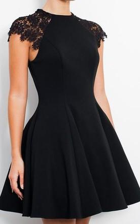 Black Plus Size Homecoming Dresses - Junebridals