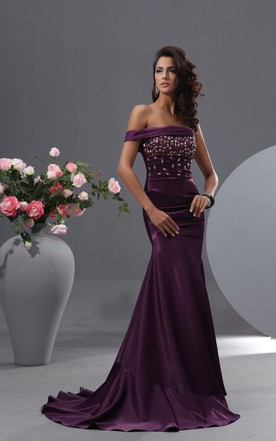 Dark Purple Prom Dresses | Plum Prom Dresses - June Bridals