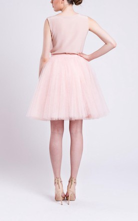 Champagne Tulle Skirt Handmade Tutu Skirt High Quality Skirt Petticoat Adult Tulle Skirt Adult Tutu Dress